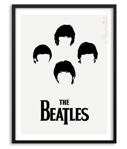 Póster The Beatles en 1964