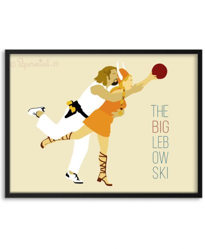 "Póster de ""The Big Lebowski"""
