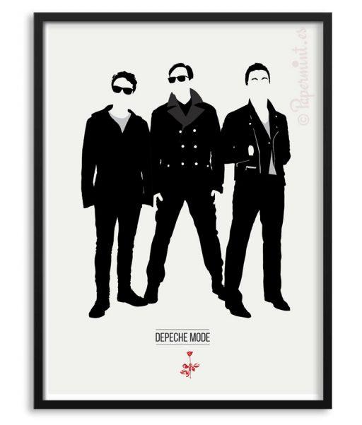 Póster de Depeche Mode