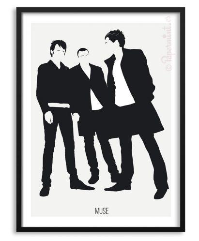 Póster de la banda Muse