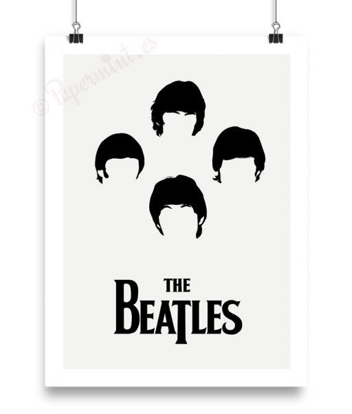 Lámina de Los Beatles