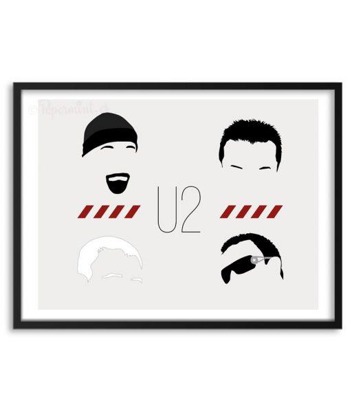 Póster de U2 por Papermint