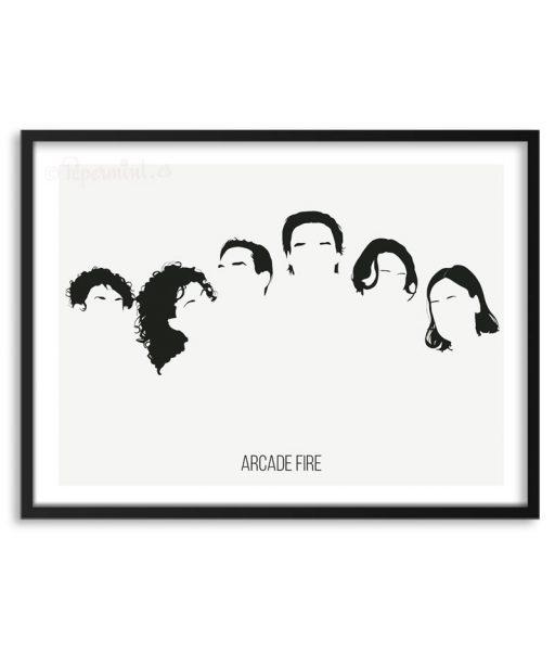 Póster de Arcade Fire por Papermint
