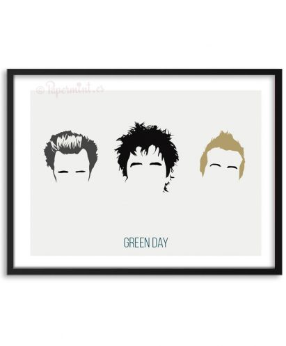 Póster de la banda Green Day