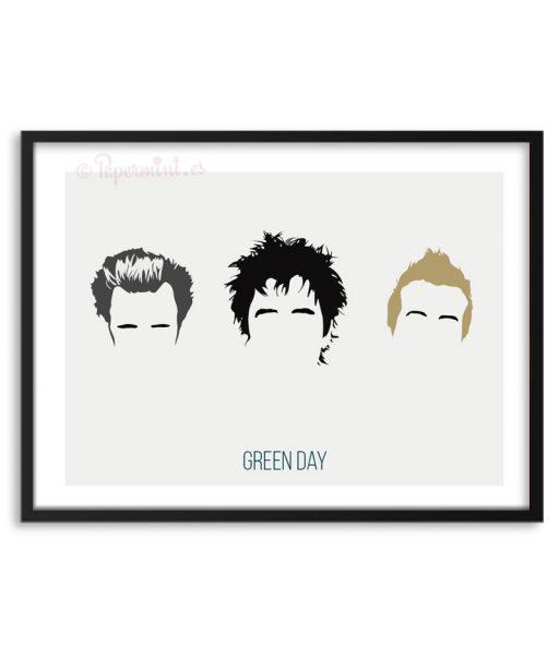 Póster de la banda Green Day