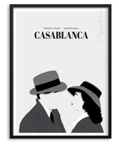 Póster cartel película Casablanca