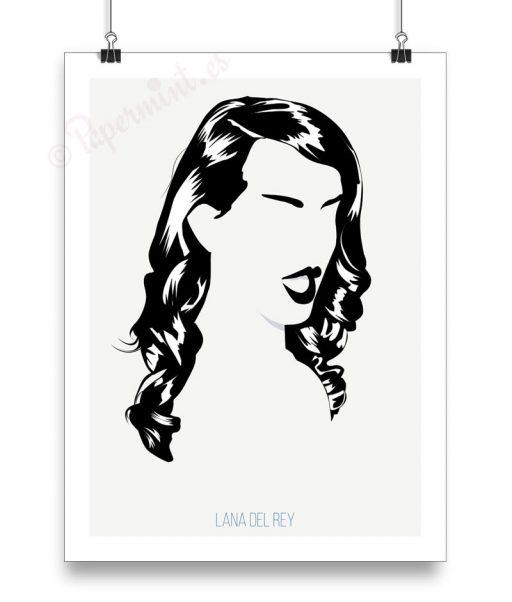 Lámina de Lana del Rey