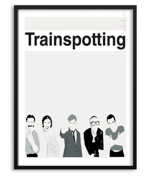 Póster de Trainspotting personalizado