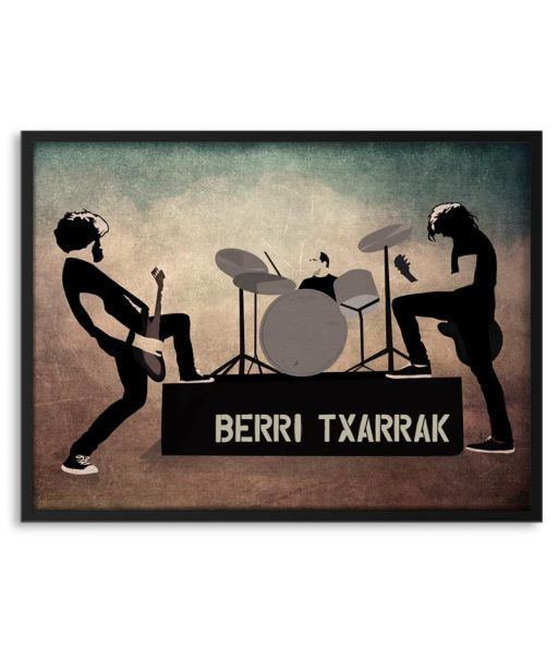 Póster de Berri txarrak en concierto
