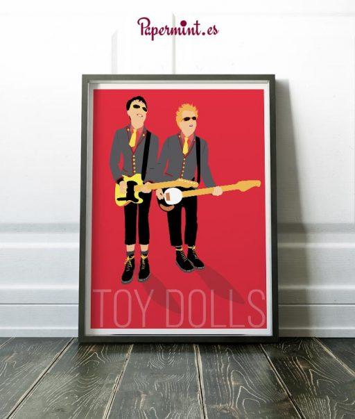 Cuadro de Toy Dolls
