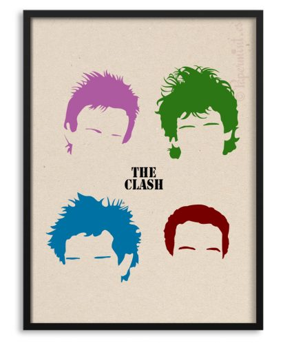 Póster The Clash por Papermint