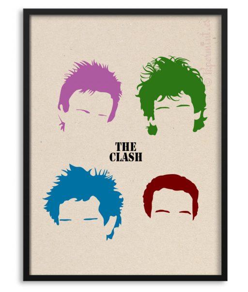 Póster The Clash por Papermint