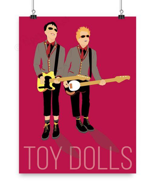 Póster de la banda Toy Dolls personalizado