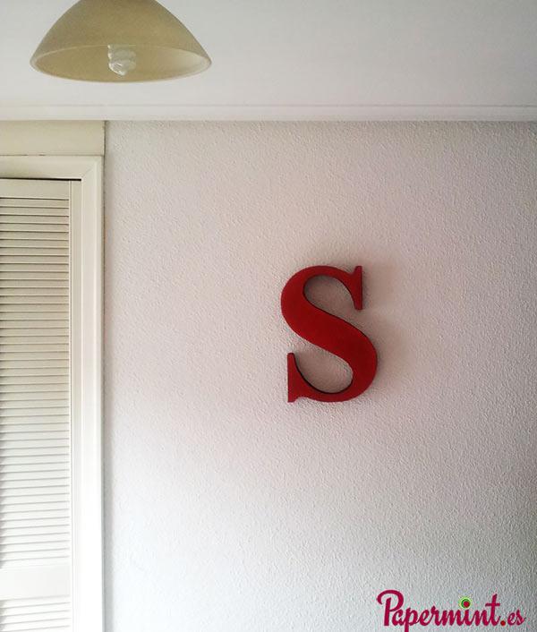 Letras decorativas maysculas Papermint