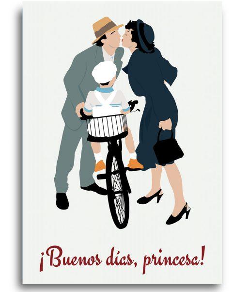 Poster la vida es bella- buenos días princesa