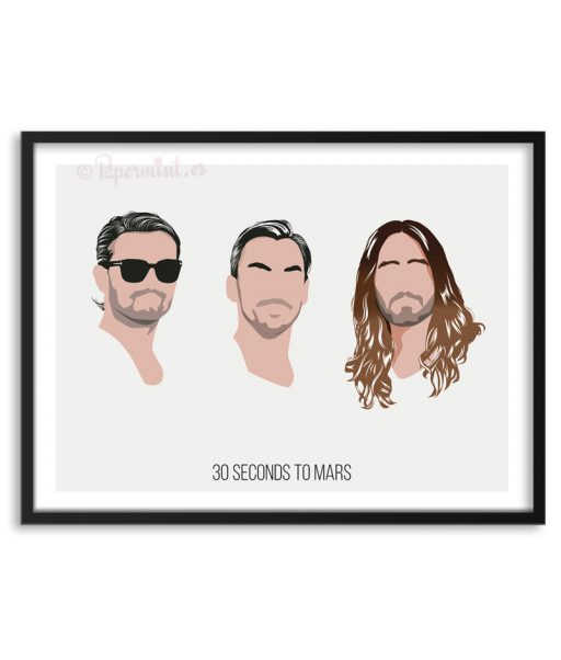 Póster de 30 Seconds to Mars