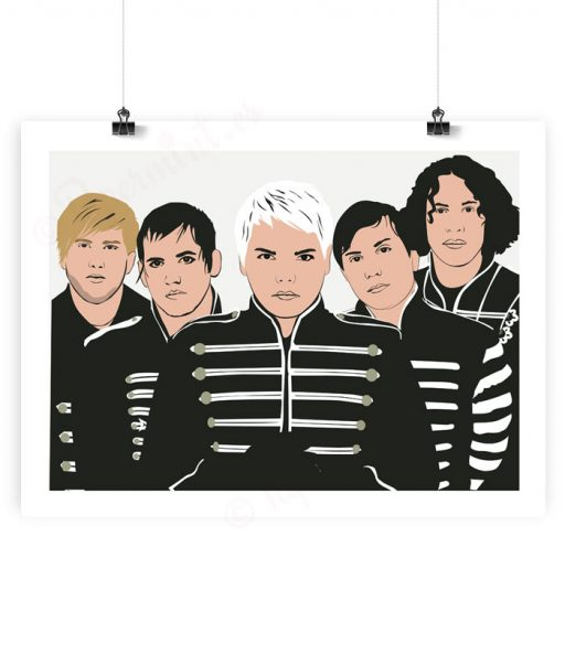 Ilustración de My Chemical Romance
