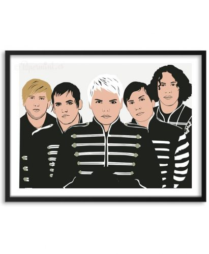 Póster de My Chemical Romance