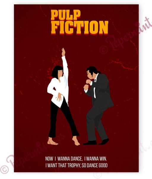 poster alternativo Pulp Fiction