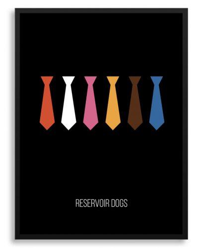 "Póster ""Reservoir dogs"" de Tarantino"