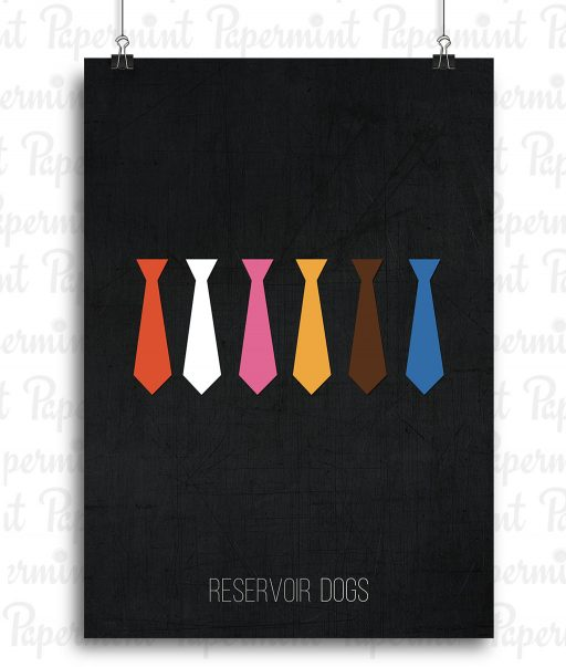 Reservoir Dogs. Poster. Papermint