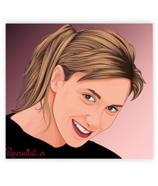 poster foto retrato