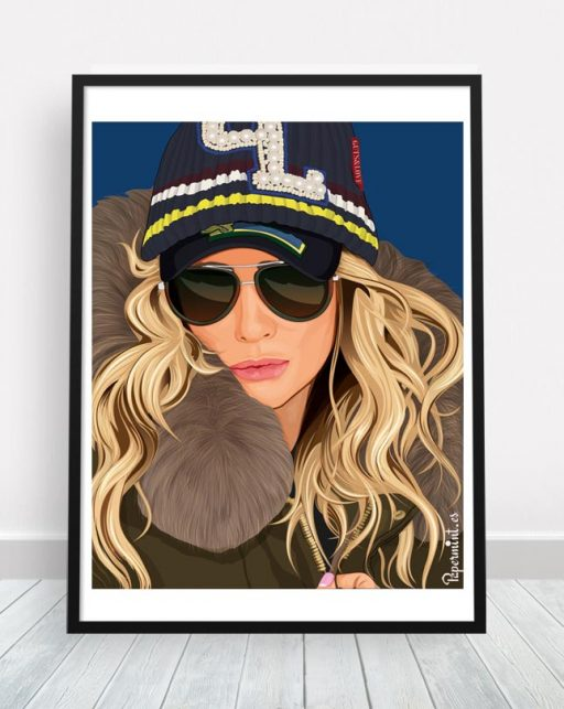 retrato personalizado estilo cómic y pop art