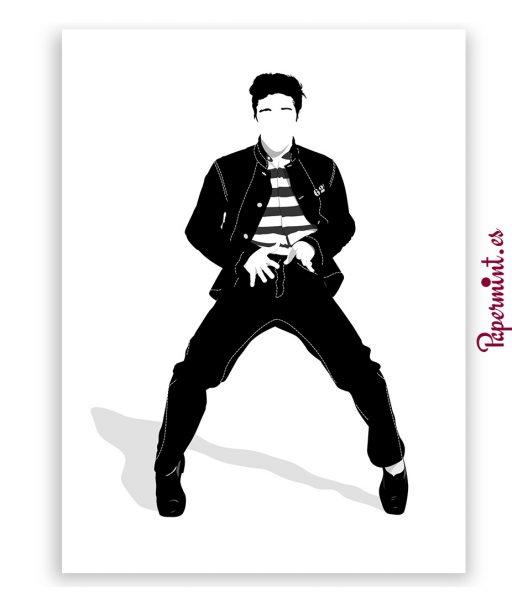 Elvis Presley en jailhouse rock