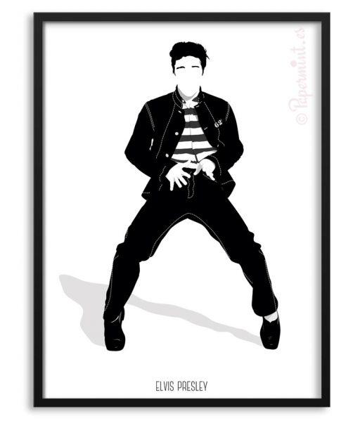 Póster de Elvis Presley por Papermint