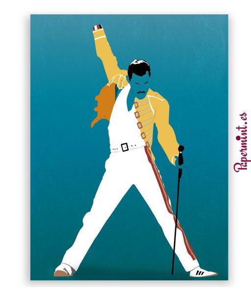 Poster de Freddie Mercury