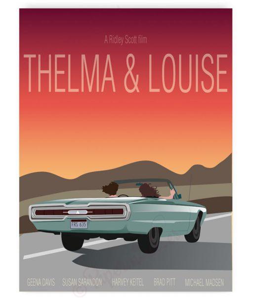 Lámina de la película Thelma & Louise
