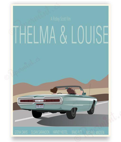 Cartel personalizado película Thelma Louise