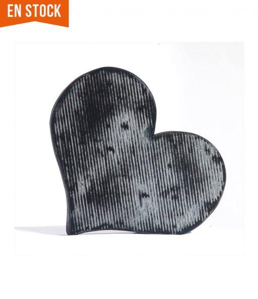 corazón decorativo decapado