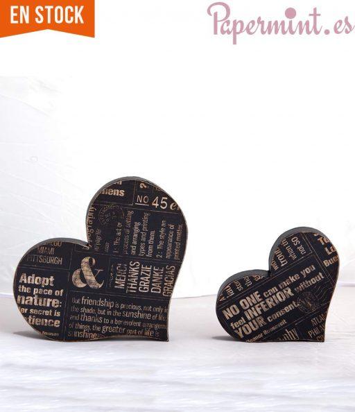 corazones decorativos retro
