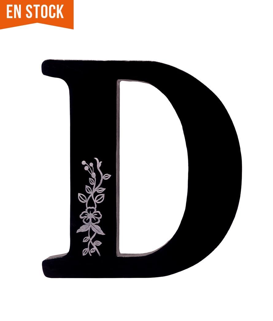 Letra R Decorada