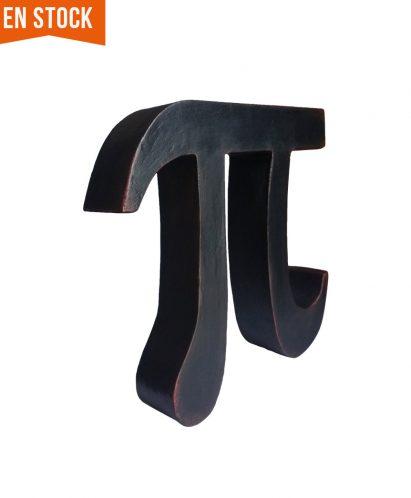 Letra Pi decorativa en stock