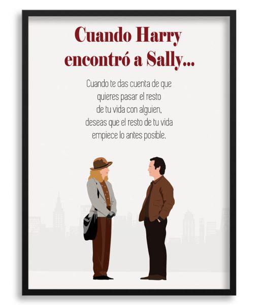 """Póster """"Cuando Harry encontró a Sally"""""""