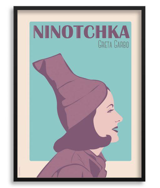 Póster de Greta Garbo en Ninotchka