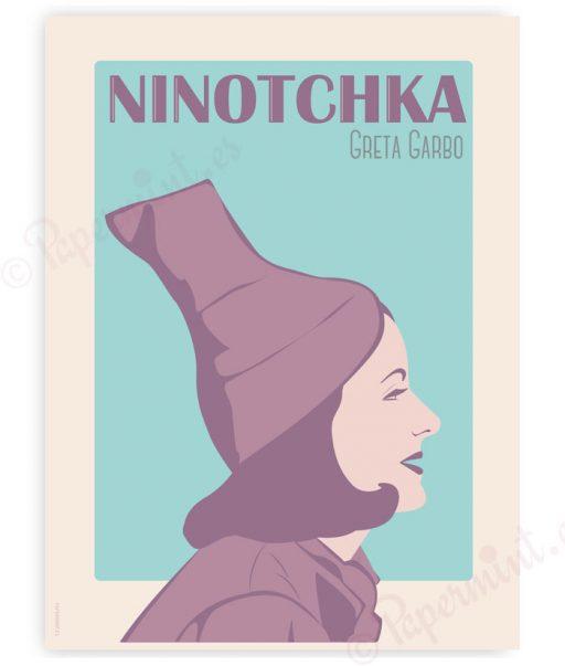 Póster Ninotchka
