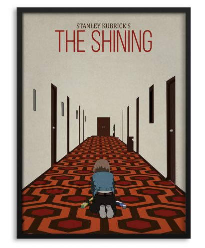"Póster ""The Shining"" con Danny"