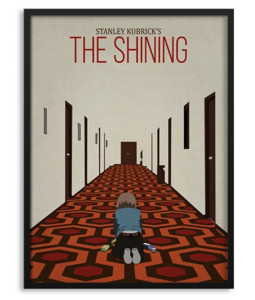 """Póster """"The Shining"""" con Danny"""
