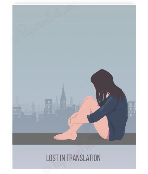 Póster personalizado de Lost in Translation