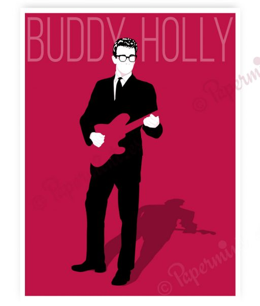 Póster de Buddy Holly