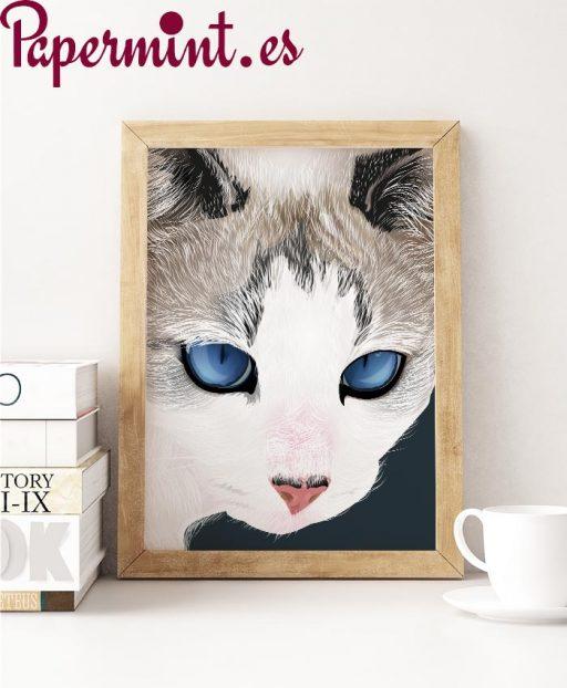 Dibujo pop de gato