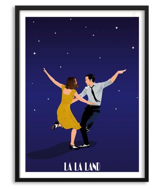 """Poster de """"La la land - la ciudad de las estrellas"""" Papermint"""
