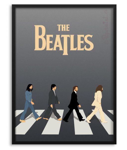 Póster personalizado de The Beatles