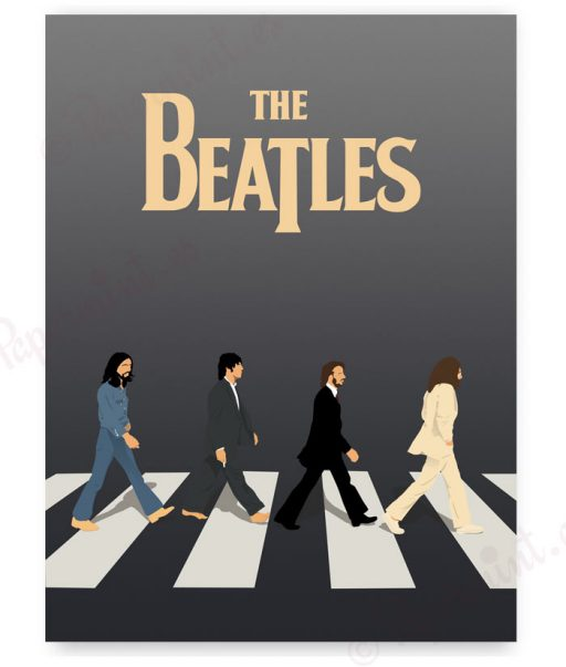 Póster The Beatles personalizado