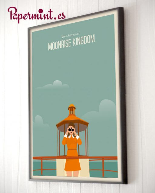"Cartel alternativo de ""Moonrise Kingdom"""