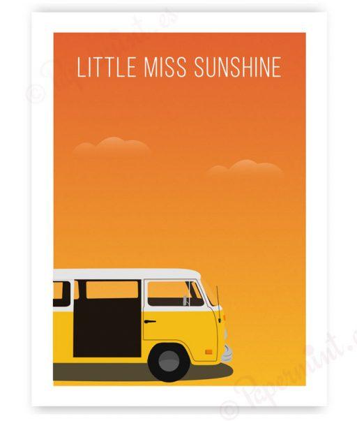 "Póster de ""Pequeña Miss Sunshine"""