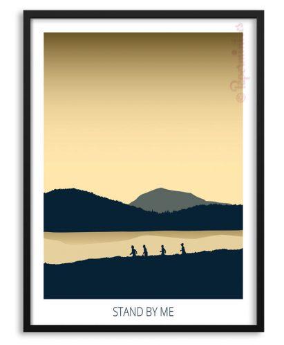 """Póster de la película """"Stand by Me"""""""